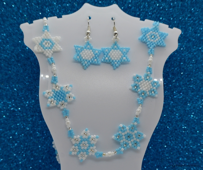 Daisy Stars You Are My All Daisy Flowers And All My Stars Necklace PeyoteAylake 1