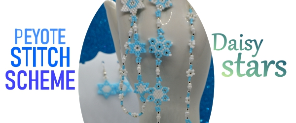 Daisy Stars You Are My All Daisy Flowers And All My Stars Necklace PeyoteAylake
