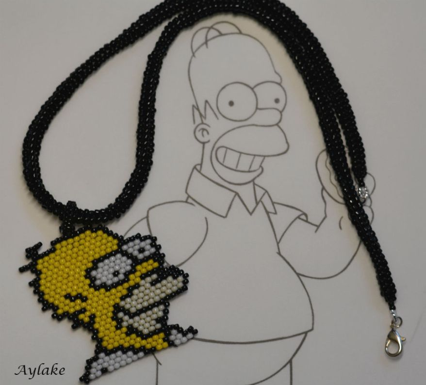 Simpson-Family-Surely-Can't-Put-A-Price-On-Family-Homer-Peyote-Stitch-Scheme-Aylake-1