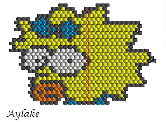 Simpson-Family-Surely-Can't-Put-A-Price-On-Family-Maggie-Peyote-Stitch-Scheme-Aylake-17