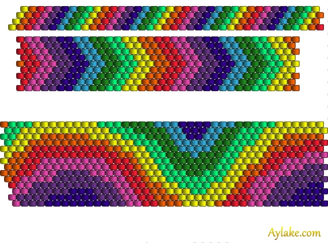 Somewhere-Over-The-Rainbow-You-Are-So-Loved-Peyote-Jewelry-Aylake-19
