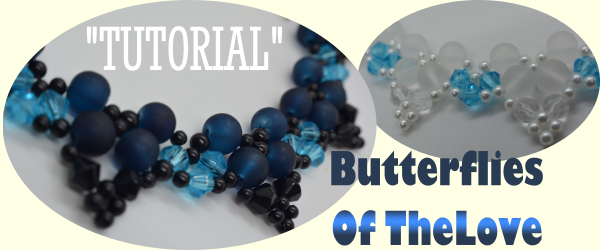 Butterflies Of The Love Beaded Pearls Necklace Aylake 1