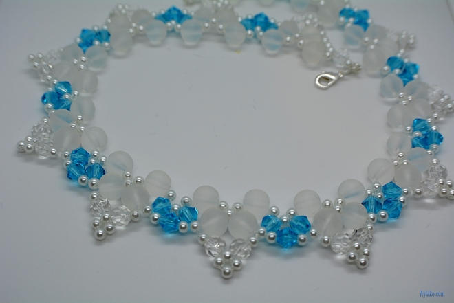 Butterflies Of The Love Beaded Pearls Necklace Aylake 12