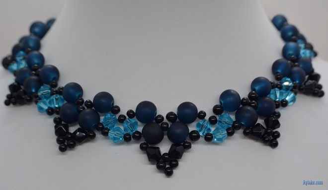 Butterflies Of The Love Beaded Pearls Necklace Aylake 4