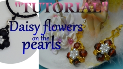 Daisy Flowers On The Pearls Who Doesnt Love Beaded Jewelry Aylake1