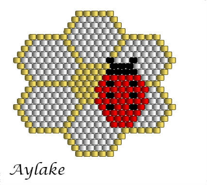 Ladybirds-And-Berry-Blossoms-Brings-Love-And-Joy-For-Everyone-Peyote-Bracelet-Tutorial-Aylake-5