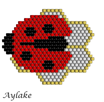 Ladybirds-And-Berry-Blossoms-Brings-Love-And-Joy-For-Everyone-Peyote-Bracelet-Tutorial-Aylake-7