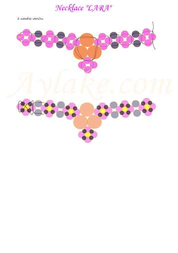 Lara-Fall-In-Love-With-Charming-Pearls-Necklace-Tutorial-Aylake1