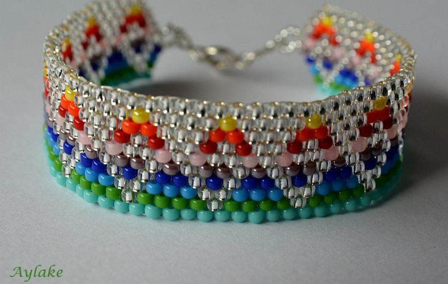 Somewhere-Over-The-Rainbow-You-Are-So-Loved-Peyote-Jewelry-Aylake-10
