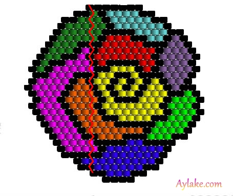 Somewhere-Over-The-Rainbow-You-Are-So-Loved-Peyote-Jewelry-Aylake-18