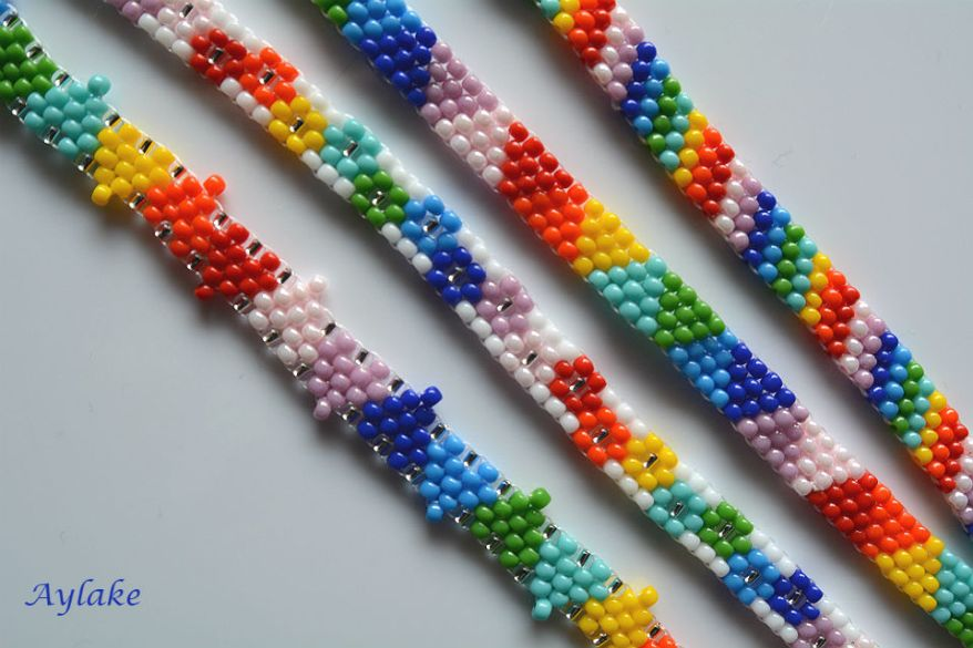 Somewhere-Over-The-Rainbow-You-Are-So-Loved-Peyote-Jewelry-Aylake-5