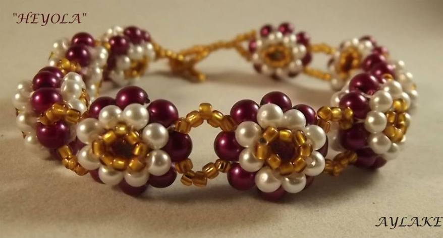 Heyola-Hey-My-Love-Here-Is-My-Flowers-For-You-Bracelet-Tutorial-Aylake-1