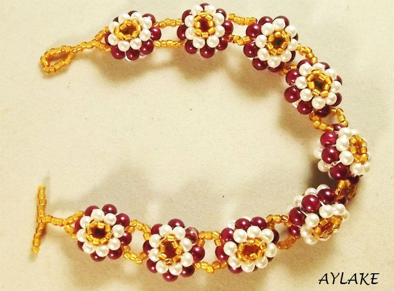 Heyola-Hey-My-Love-Here-Is-My-Flowers-For-You-Bracelet-Tutorial-Aylake-2