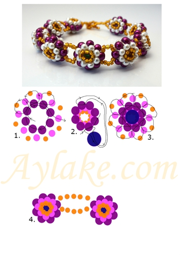 Heyola-Hey-My-Love-Here-Is-My-Flowers-For-You-Bracelet-Tutorial-Aylake-3