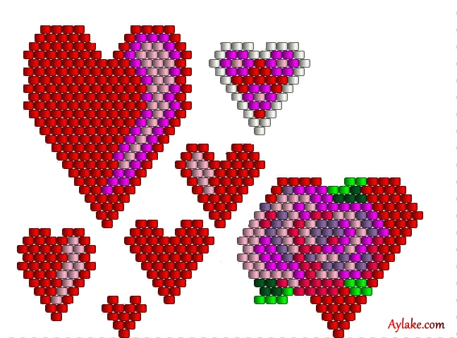Love-Is-In-Air-I-Carry-Your-Heart-With-Me-Peyote-Tutorial-Aylake-18