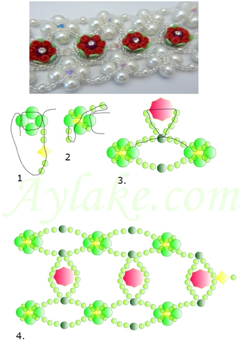 Princess-Of-The-Rose-Garden- I-Can-Be-Always-A-Princess-Inside-Bracelet-Tutorial-Aylake-4