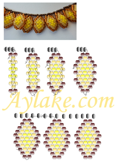 Strawflowers-This-Gorgeous-Beaded-Necklace-You-Can-Wear-All-Year-Round-Tutorial-Aylake-5