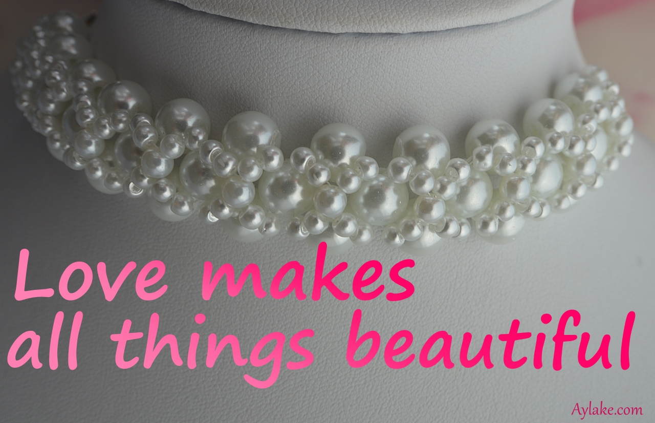 Criss Cross Bracelet Love makes all things beautiful Beading Tutorial Aylake Ailaviu