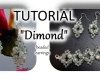 Dimond Beaded earrings animated tutorial
