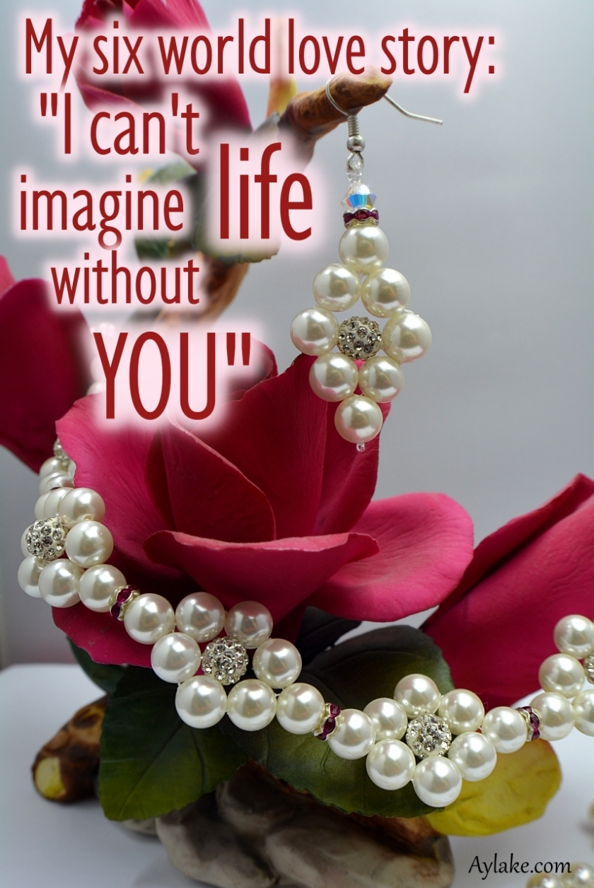 Simple Flowers 2 Earrings My six world love story U cant imagine life without you Beading Tutorial Aylake Ailaviu
