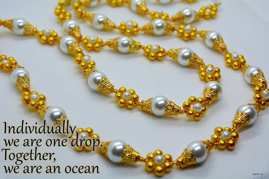Simple Flowers Necklace Bracelet Individually we are on drop Beading Tutorial Ailaviu Aylake