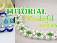 Wonderful Necklace Bracelet Things are beautiful if you love them Beading Tutorial Aylake Ailaviu 1