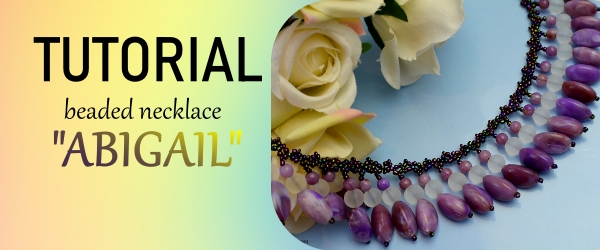 Abigail Beaded Necklace Animated beading tutorial ailaviu aylake