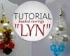 Lyn beaded earrings animated beading tutorial aylake ailaviu