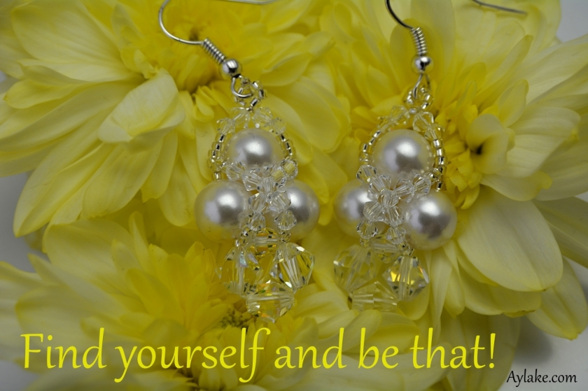 Lyn Earrings Find yourself and be that beading tutorial Aylake Ailaviu