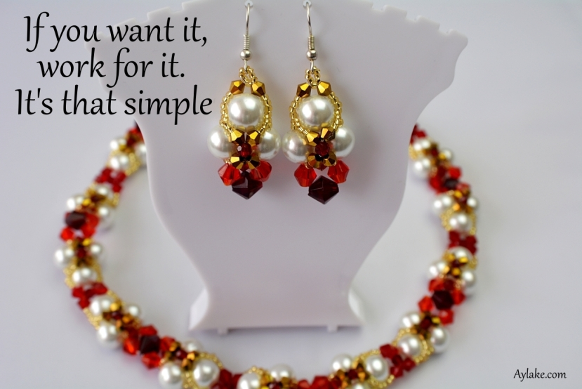 Lyn Earrings If you want it work for it beading tutorial aylake ailaviu