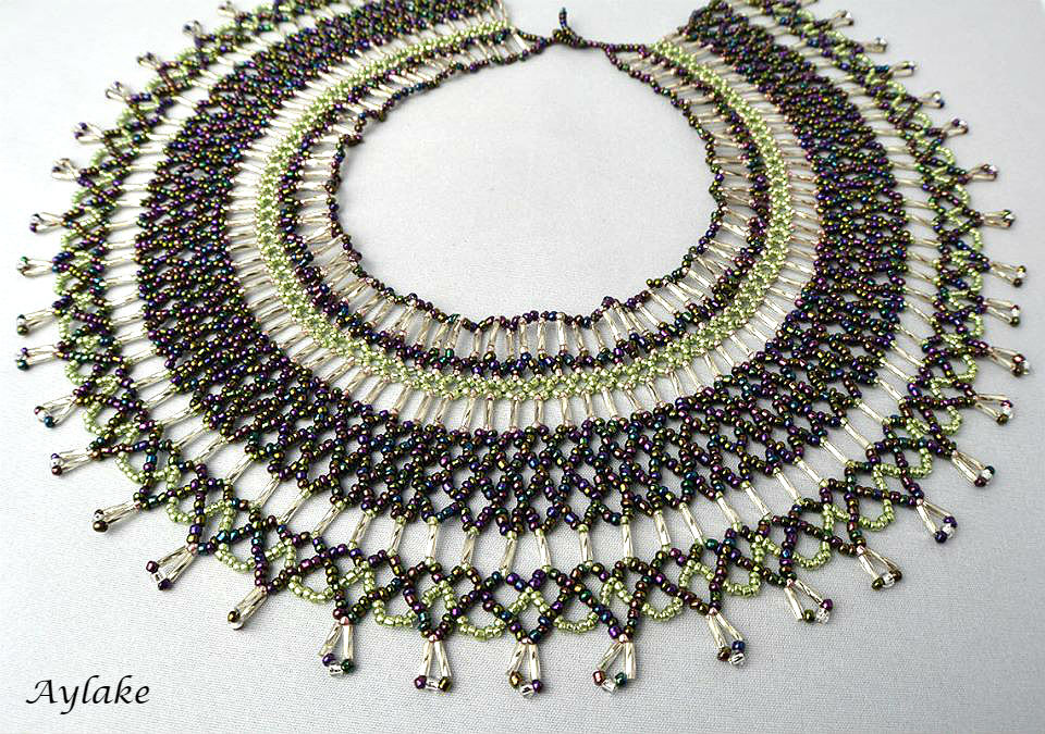 Beaded Necklace Mia Aylake 2
