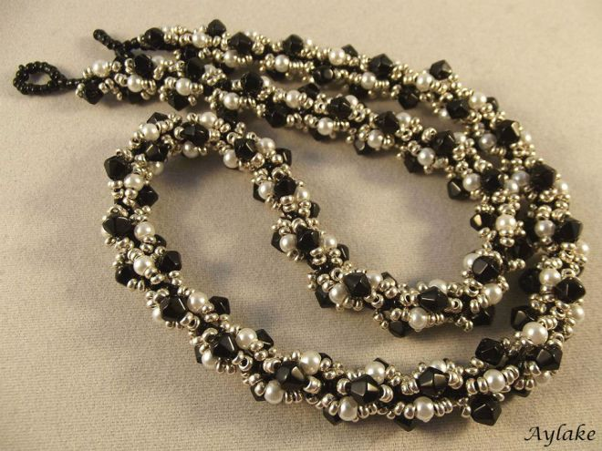 Beaded Rope Jewelry Is A Way To Express Yourself Necklace Aylake 1