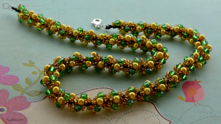 Beaded Rope Jewelry Is A Way To Express Yourself Necklace Aylake 3