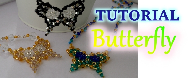 Butterflies are like dream flowers Beaded Necklace Aylake 12