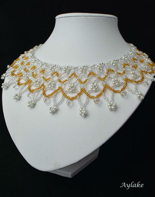 Fiory Autumn Is A Second Spring When Every Leaf Is A Flower Necklace Aylake 3