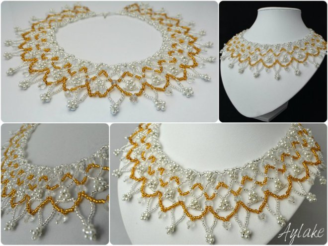 Fiory Autumn Is A Second Spring When Every Leaf Is A Flower Necklace Aylake 4